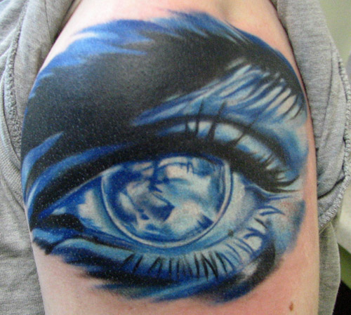 Horror Or Funny Are Some Reasons People Getting Eye Tattoo Depending