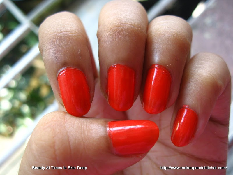 Isadora Wonder Nail Quick Dry Nail Polish 774 orange Flash