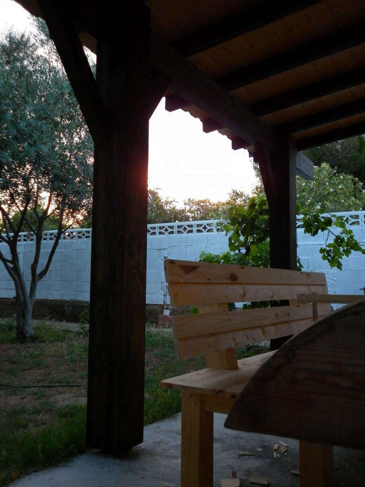 Susoleto cosas de casa junio 2011 - Como hacer un porche ...