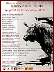 Manolo Vanegas anunciado en el festival benéfico de Vauvert , 1/11.