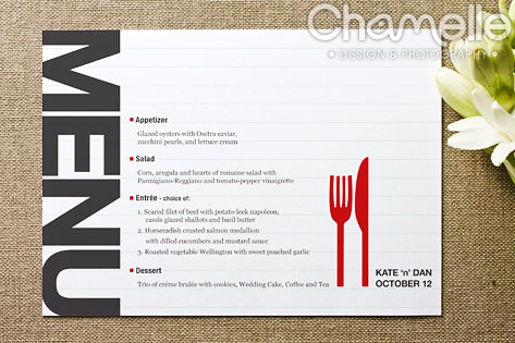 lucy bowers menu design inspiration