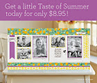 May is National Scrapbooking Month so get your Taste of Summer