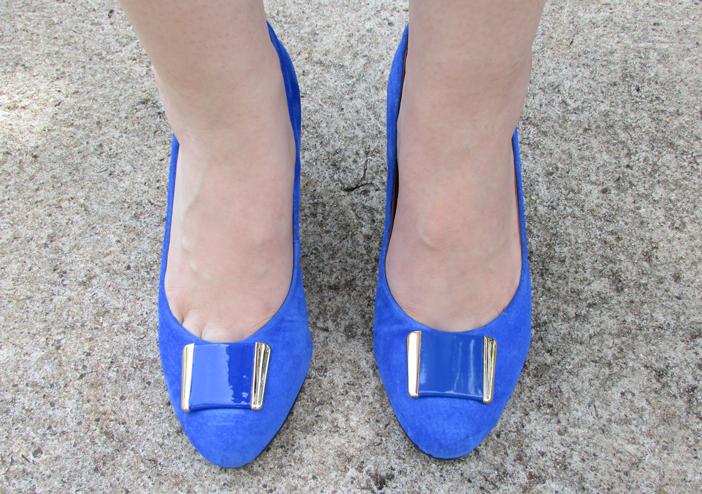 sapato, azul, royal, giulia domna