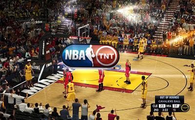 NBA 2K13 TNT Complete Presentations & Scoreboard Mod