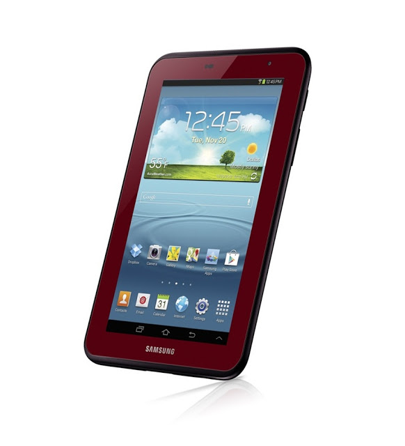 Spesifikasi Samsung Galaxy Tab Gar Red Color Ali Madura
