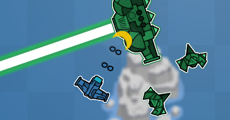 frantic sky леталка шутер игра скриншот