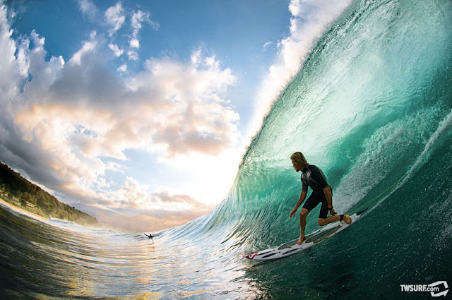 Mark Healy Surfing Pipeline from Transworld Surf
