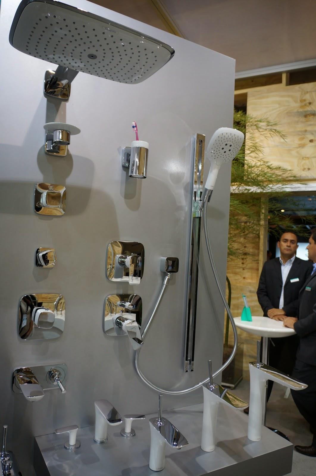 Duchas, chuveiros e misturadores da Hansgrohe - Expo Revestir 2014