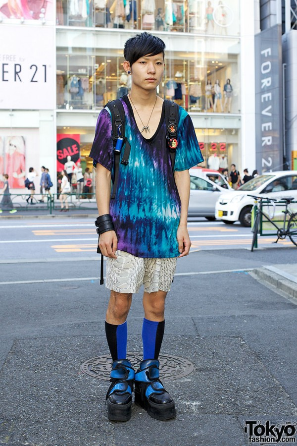 Japanese Tie Dye Fashion