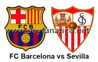 Barça vs Sevilla por la Liga 2013