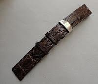 dây đồng hồ da cá sấu 36
