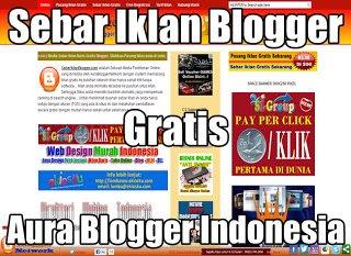 Sebar Iklan Gratis Indonesia