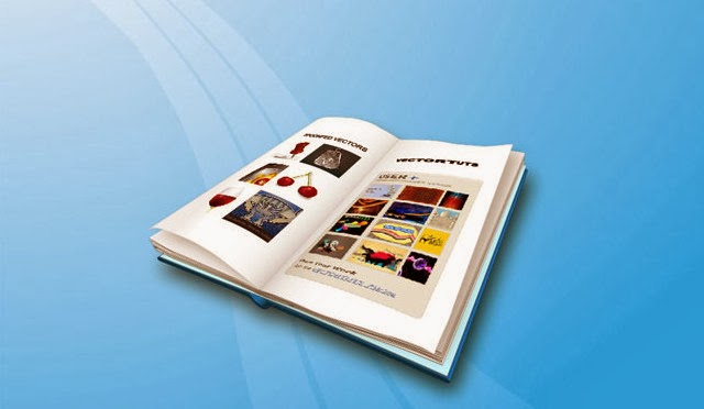 An Open Book with Illustrator's 3D Extrude & Bevel Tool