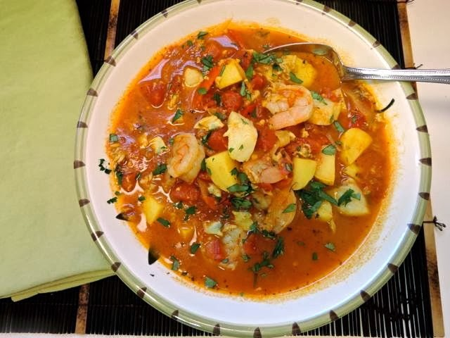 Marco canora seafood stew recipes marco canora seafood for Crock pot fish stew