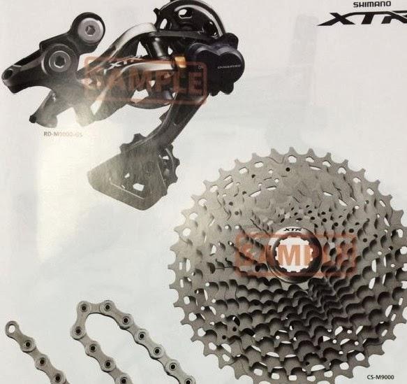 Shimano XTR Di2 M9000