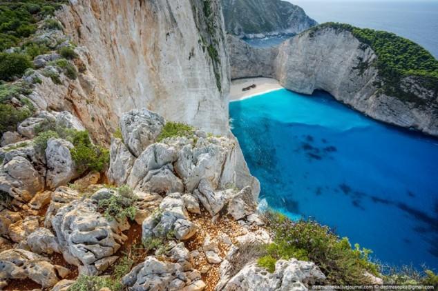 The Navagio Bay, Greece