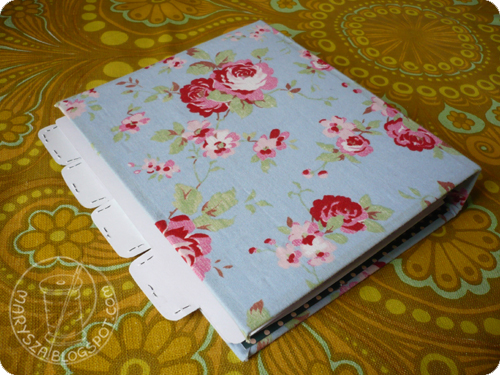 5 Christmas Gift Giving Idea | DIY Recipe Book Binder from Marysza