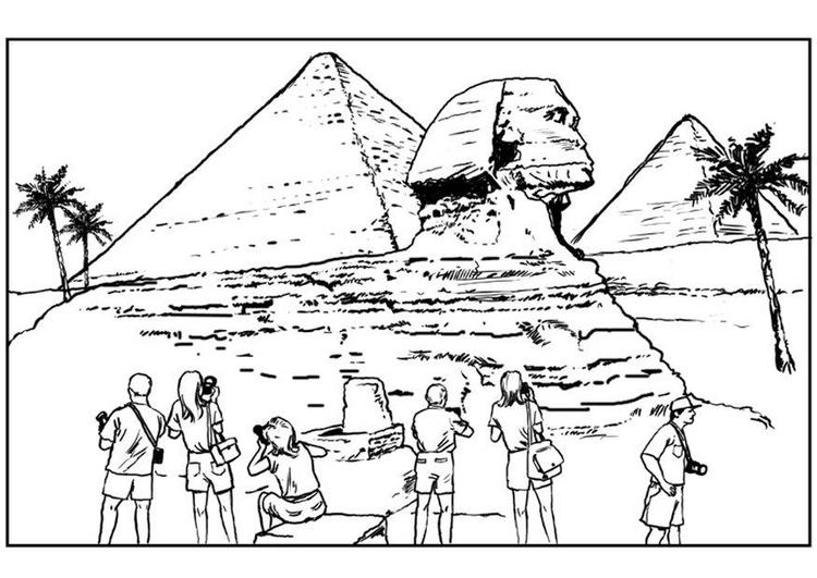 dibujo egipcios: