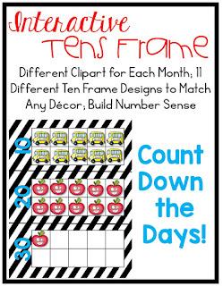 https://www.teacherspayteachers.com/Product/Interactive-Ten-Frames-for-Calendar-or-Centers-1940592