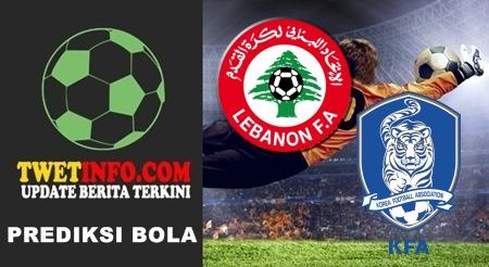 Prediksi Score Lebanon vs Korea Selatan 08-09-2015