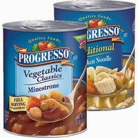 New Coupon:  $1/4 Cans of Progresso Soup