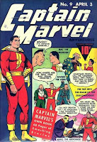 Captain Marvel Adventures #9 cover image