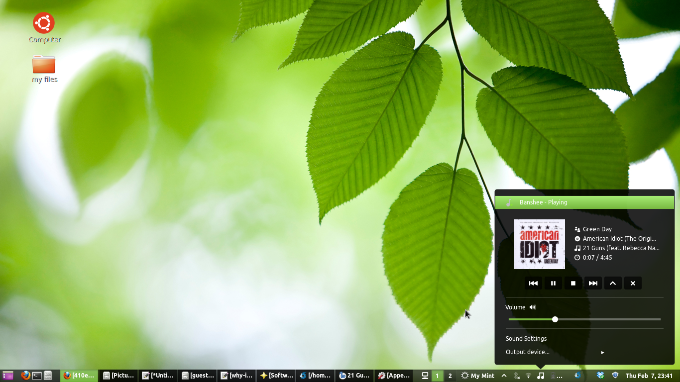 beauty of mint Linux Mint the best Linux operating system