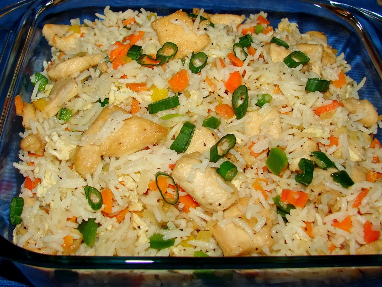 how to make chicken fried rice easy recipe.