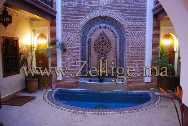 voila des belles salles du bains en zellige marocain dcoration agrable dans votre maison - Zellige Marocain Salle De Bain