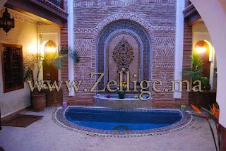 des merveilleux hammam en zellige 2013 hammam marocain. Black Bedroom Furniture Sets. Home Design Ideas