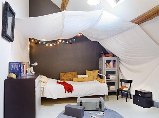 la casa del color del cielo decoraci n. Black Bedroom Furniture Sets. Home Design Ideas