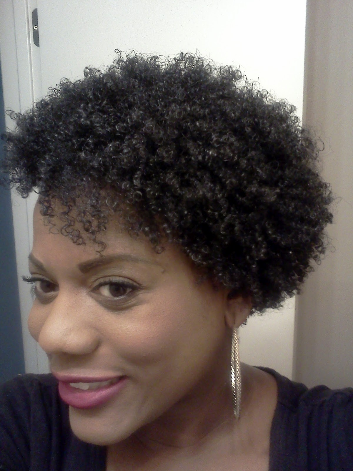 Curlformers On Natural Hair Using Lustrasilk Curl Pudding Super