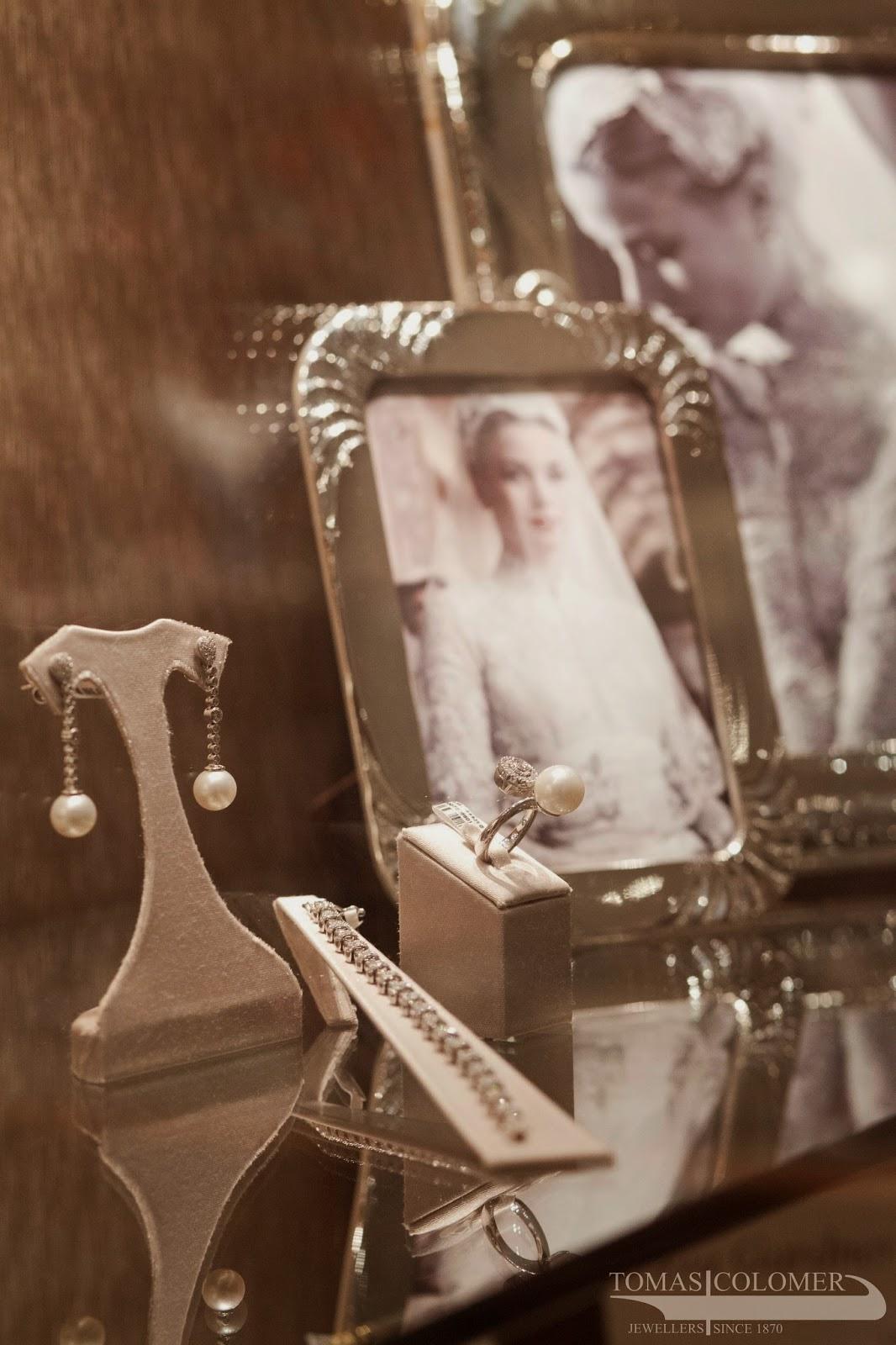 pendientes perlas novia