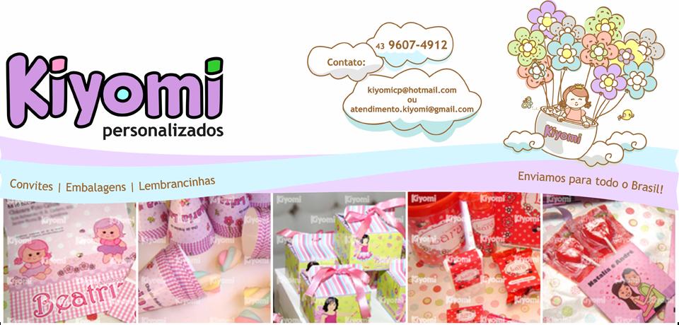 Kiyomi Convites Personalizados