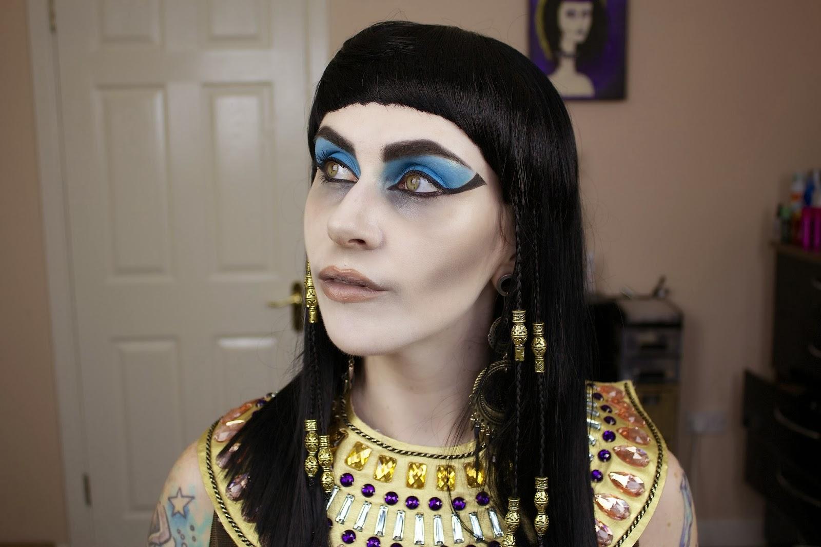 www.LetzMakeupBlog.com: Cleopatra\'s Ghost; Halloween Makeup Tutorial