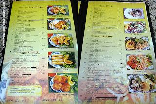 Sanamluang Cafe Menu