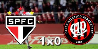 Placar São Paulo 1x0 Atlético PR