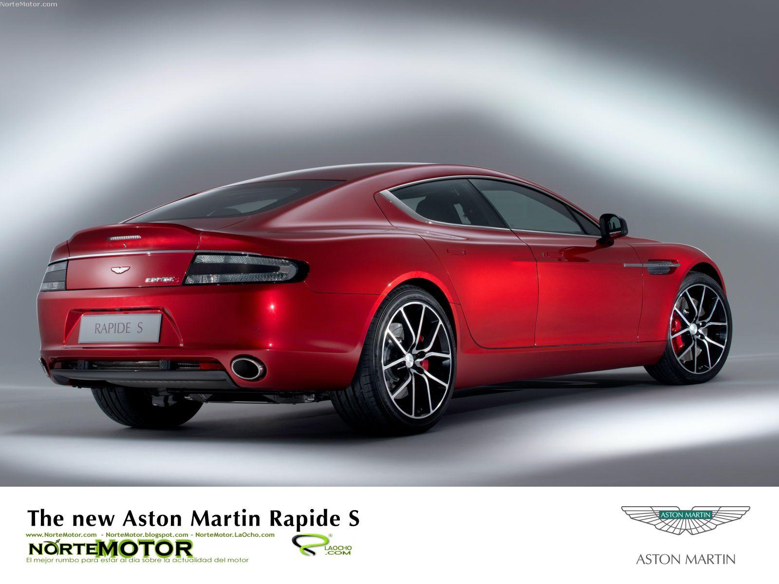 Revista Coche: Nuevo Aston Martin Rapide S 2014