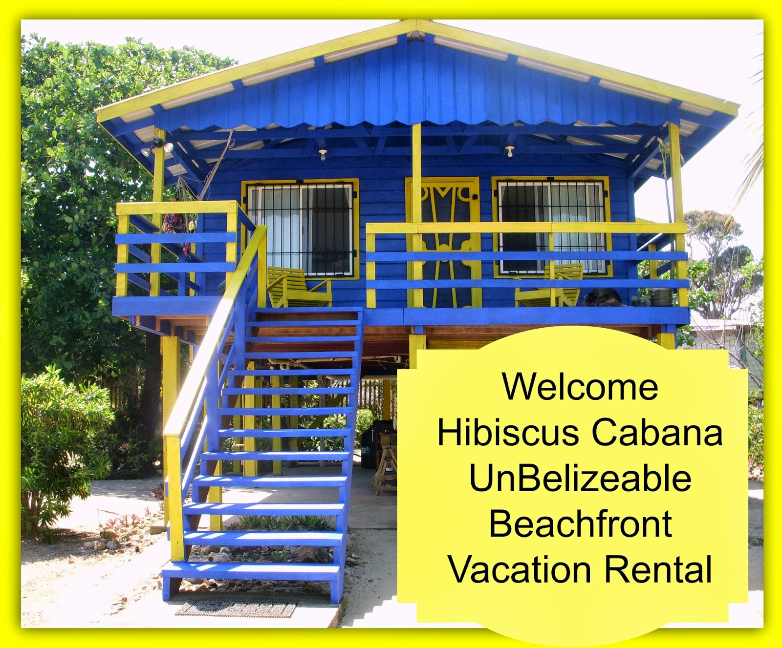 belize in the magic of the carribean hibiscus cabana vacation