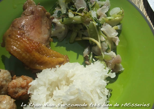 cuisson du riz gluant