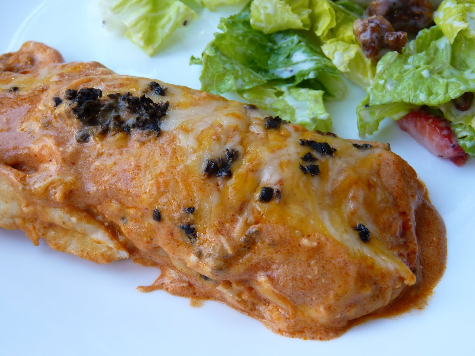 Fantastic Family Favorites: Easy Beef Enchiladas