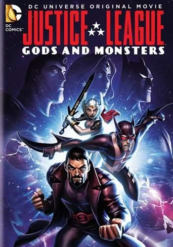 La Liga de la Justicia: Dioses y Monstruos DVDRip Latino