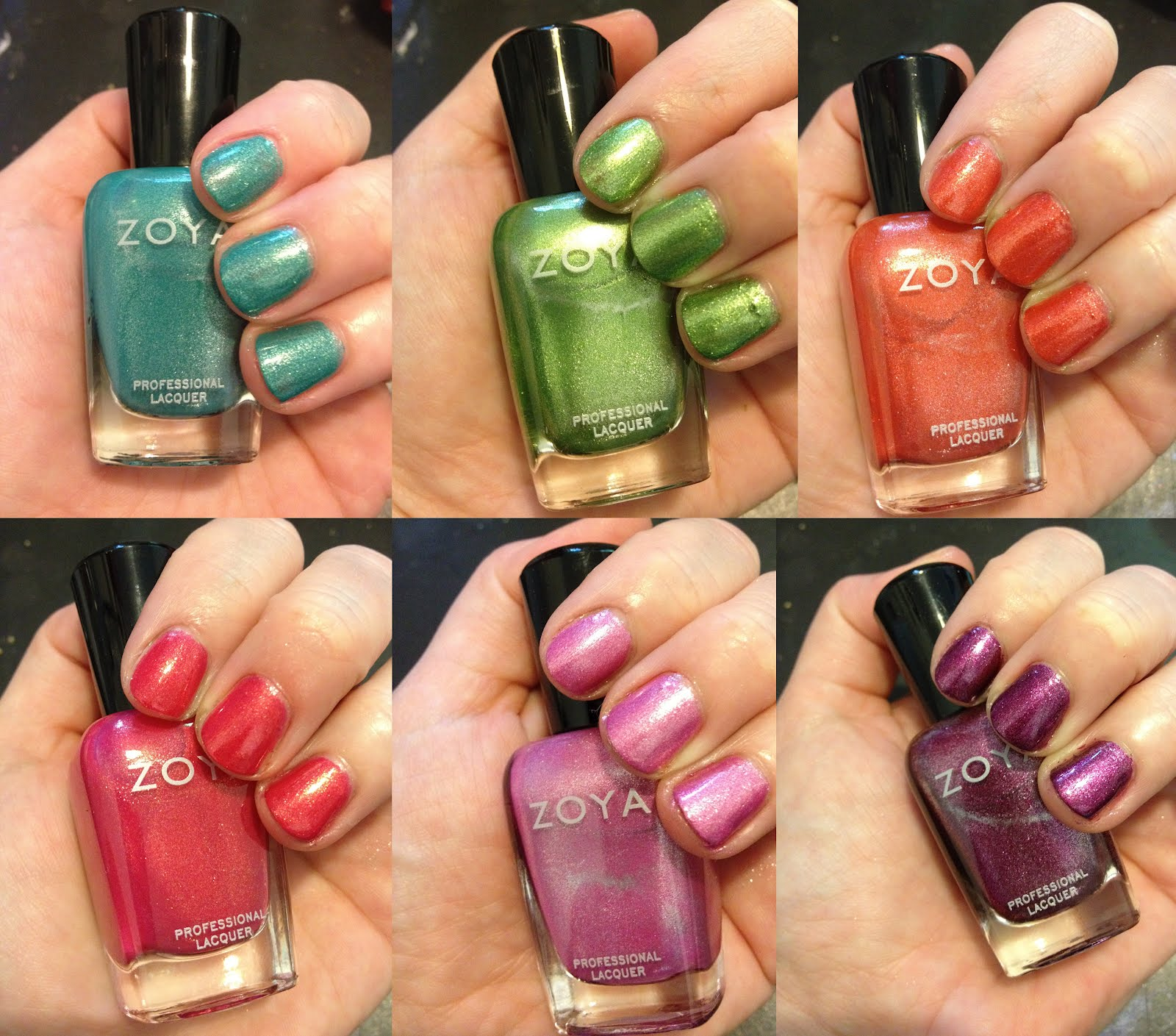 The Beauty of Life: Zoya Summer 2012 Surf Collection Swatches