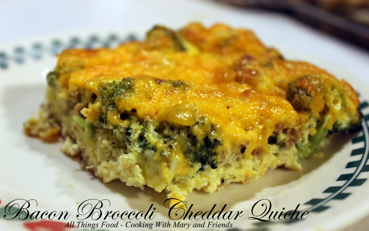 Crustless Broccoli-Cheddar Quiches Recipe — Dishmaps