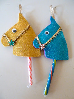 Crystal clear it s ornament crafting time for kids and for Horse crafts for kids