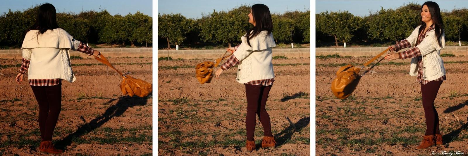 Outfit: Entre naranjos