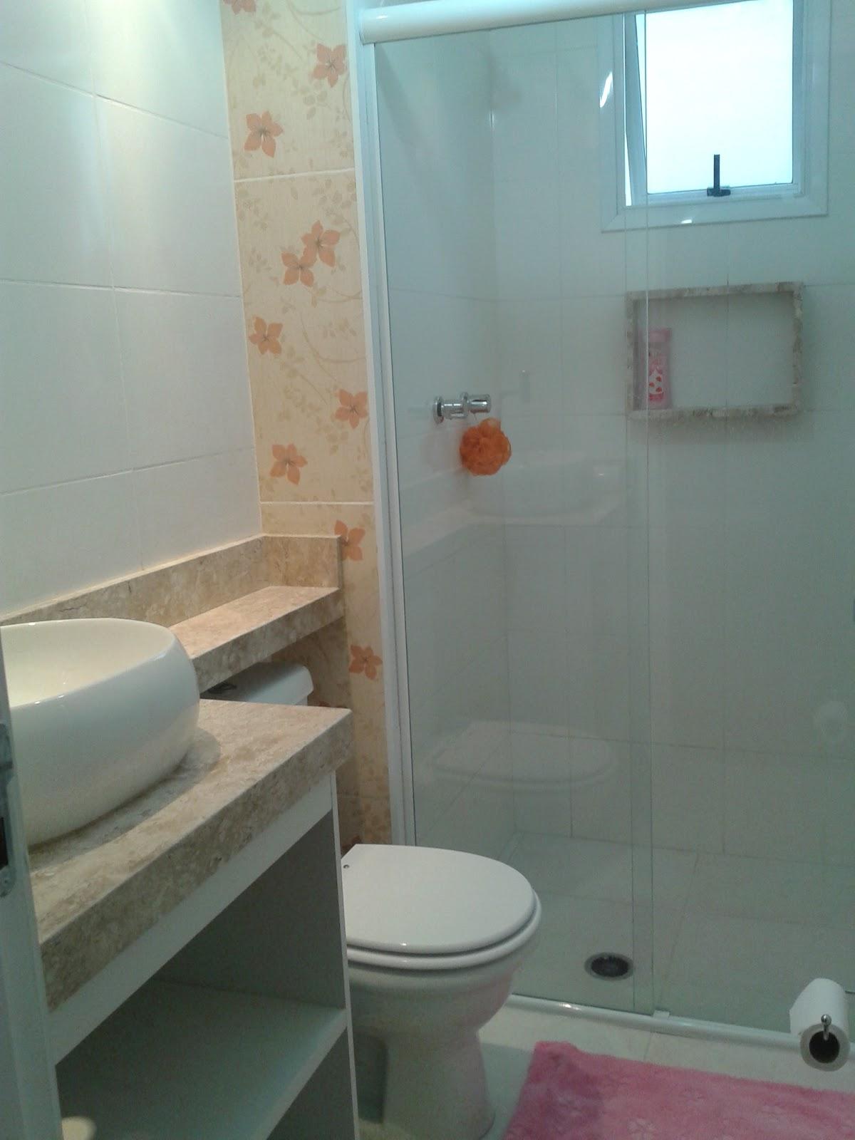 Meu primeiro Apartamento: Banheiro com mármore instalado #517A69 1200 1600