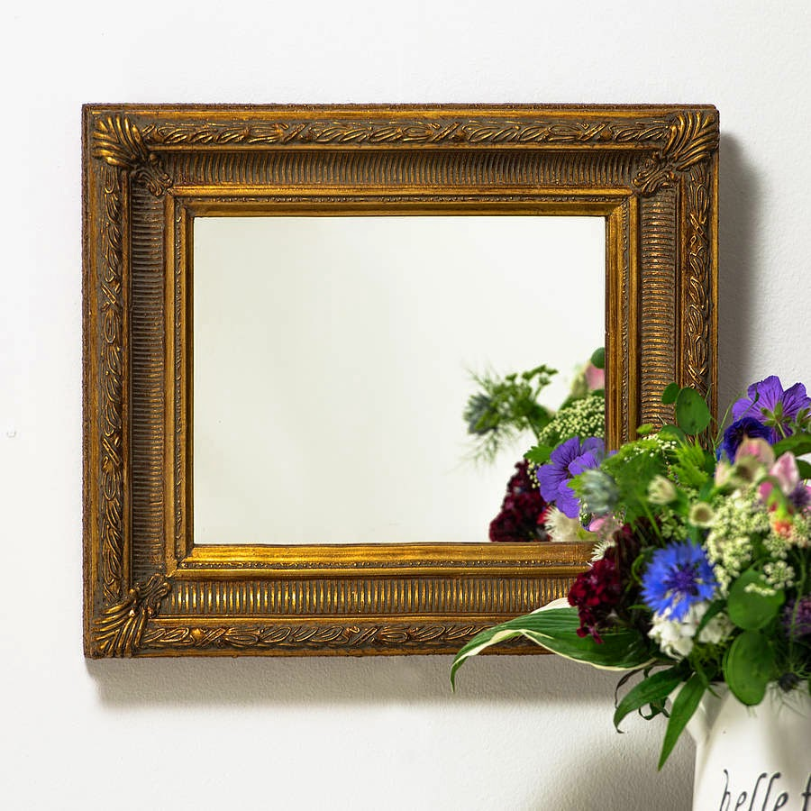 10 espejos vintage para una decoraci n de poca for Espejo pequeno decoracion