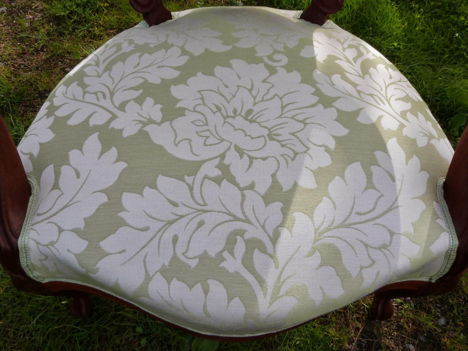 69 fauteuil louis philippe tissu toiles de mayenne les jolis si ges - Les toiles de mayenne ...
