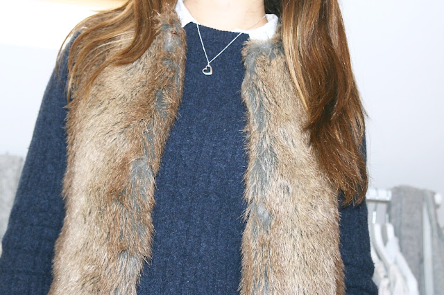 Katherine Penney Chic Blogger Weekend Life Photography Style Fashion Outfit Winter Autumn Gilet Fur
